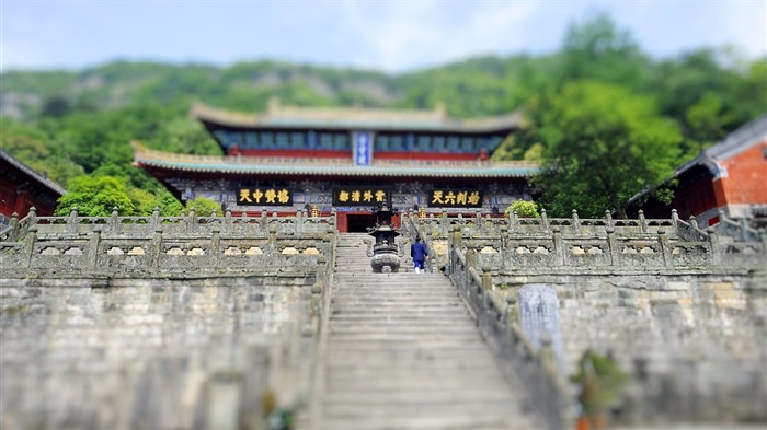Wudang Zixiao hall wallpaper Views:6141