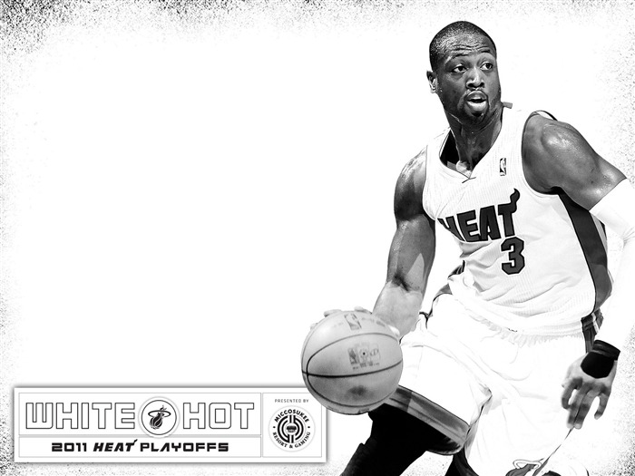 Miami Heat 2010-11 NBA season and playoffs team wallpapers Views:16557