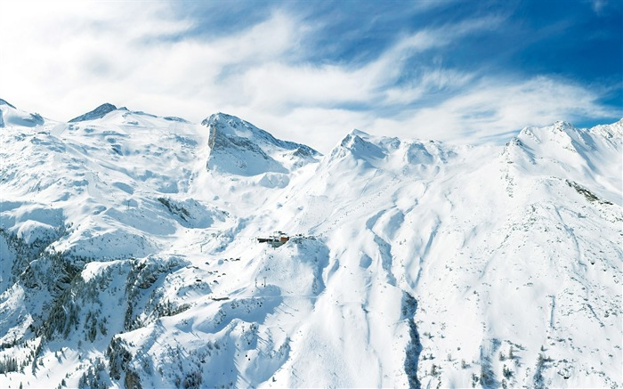Beautiful Snowsacpe of Alps - Alps Winter Vacation Views:9960