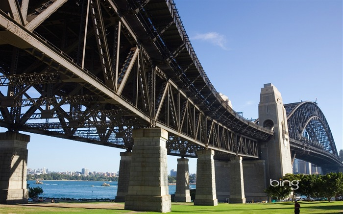 Bradfield Park Sydney Harbour Bridge wallpaper Views:10797 Date:6/20/2011 11:19:14 PM