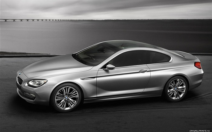 Concept Car BMW 6-Series Coupe - 2010 HD wallpaper 01 Views:5549