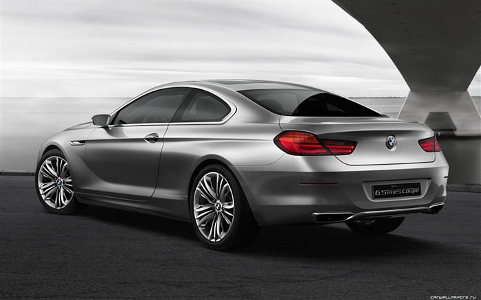 Concept Car BMW 6-Series Coupe - 2010 HD wallpaper 02 Views:5743