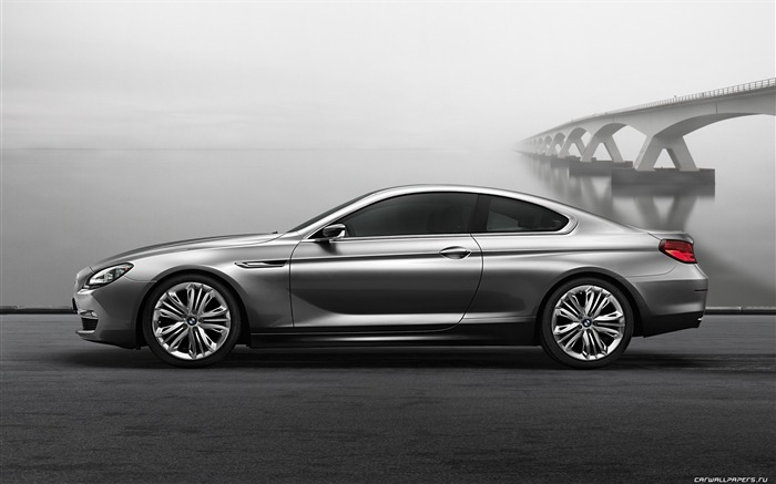 Concept Car BMW 6-Series Coupe - 2010 HD wallpaper 03 Views:6902