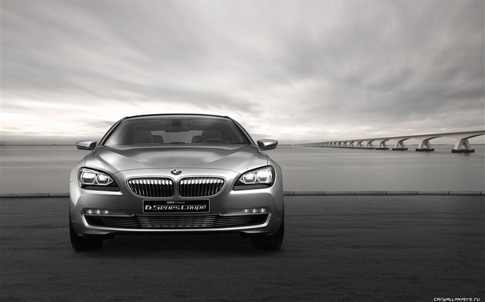 Concept Car BMW 6-Series Coupe - 2010 HD wallpaper 04 Views:5905
