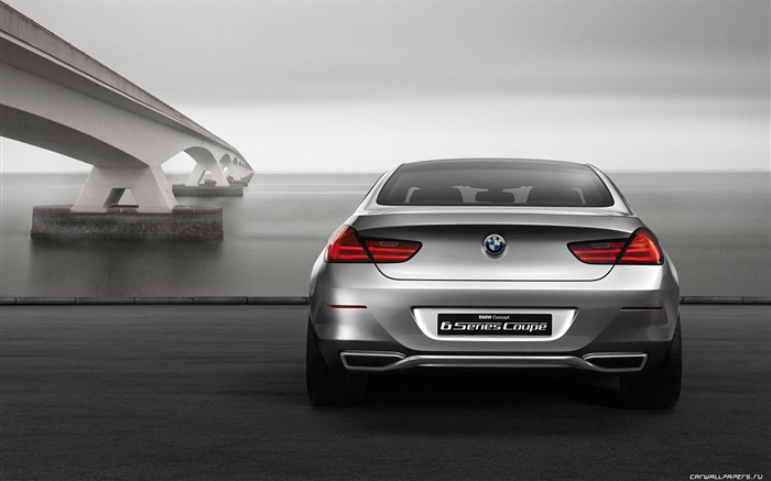Concept Car BMW 6-Series Coupe - 2010 HD wallpaper 05 Views:6296