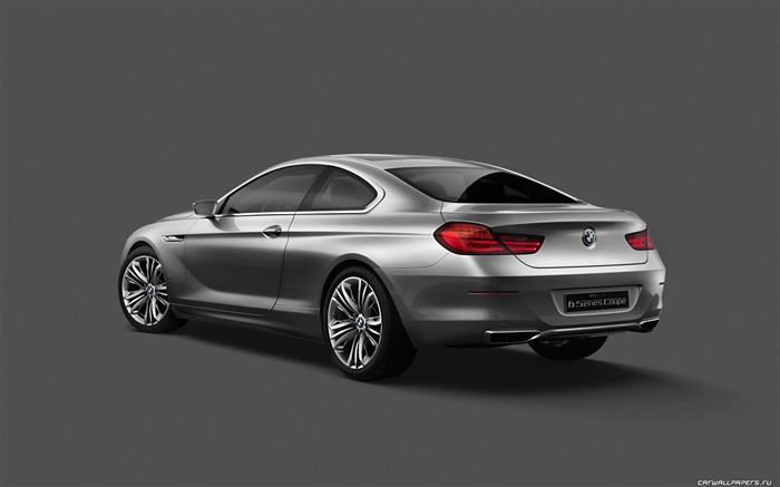Concept Car BMW 6-Series Coupe - 2010 HD wallpaper 08 Views:5188