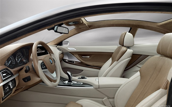 Concept Car BMW 6-Series Coupe - 2010 HD wallpaper 14 Views:5732
