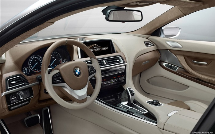 Concept Car BMW 6-Series Coupe - 2010 HD wallpaper 15 Views:5352