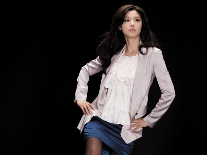 Jun Ji-hyun endorsement Korean clothing brand besti belli wallpaper 12 Views:3781