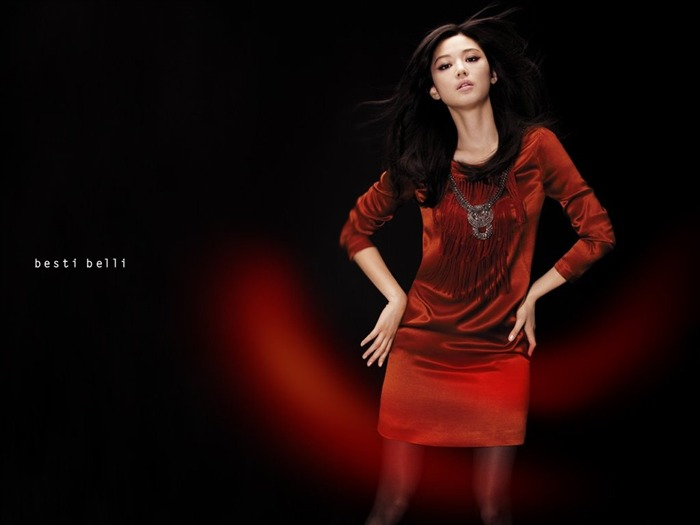 Jun Ji-hyun endorsement Korean clothing brand besti belli wallpaper 17 Views:2433