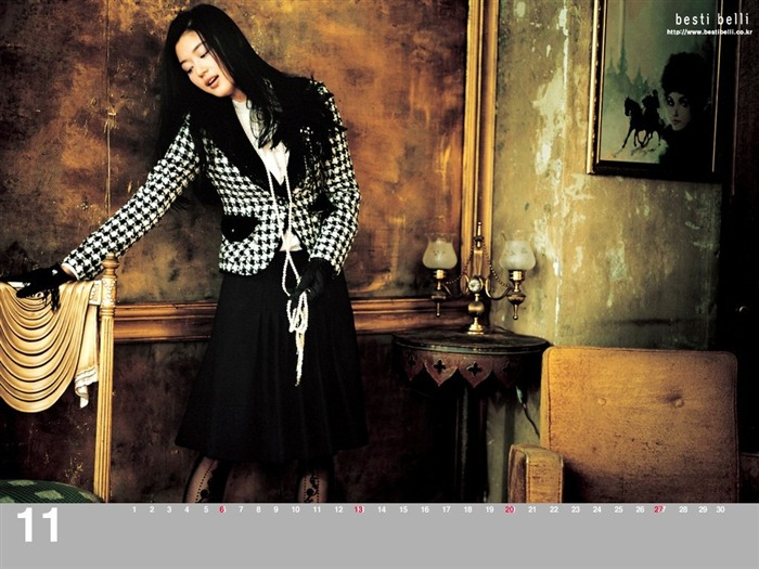 Jun Ji-hyun endorsement Korean clothing brand besti belli wallpaper 21 Views:1346