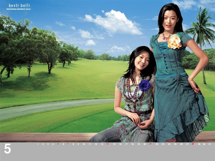 Jun Ji-hyun endorsement Korean clothing brand besti belli wallpaper 26 Views:1121