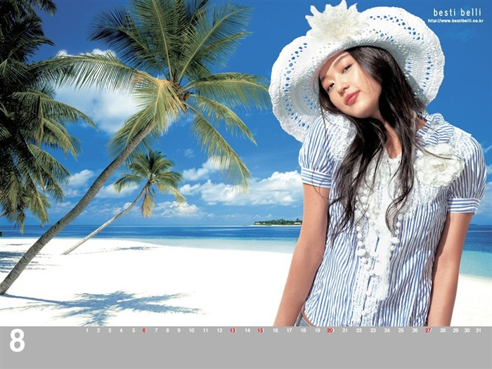 Jun Ji-hyun endorsement Korean clothing brand besti belli wallpaper 29 Views:1245