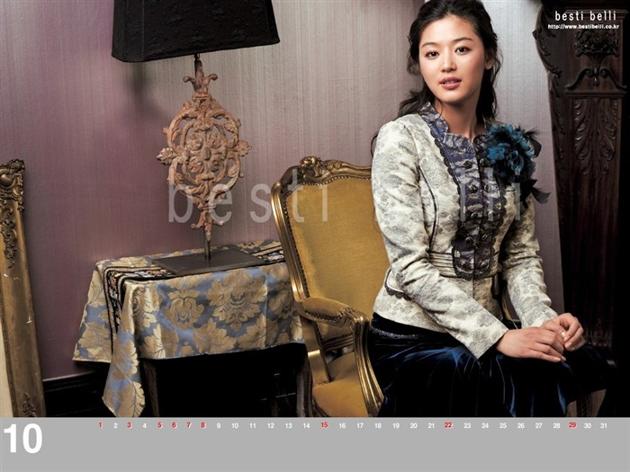 Jun Ji-hyun endorsement Korean clothing brand besti belli wallpaper 31 Views:1164