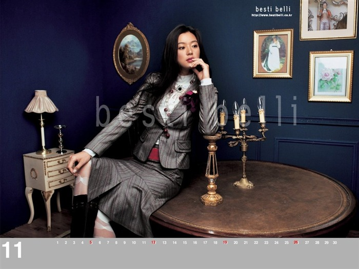 Jun Ji-hyun endorsement Korean clothing brand besti belli wallpaper 32 Views:1443