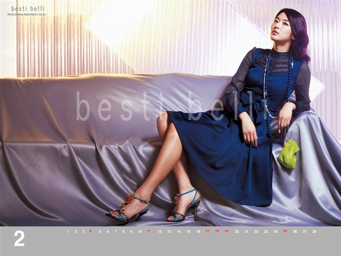 Jun Ji-hyun endorsement Korean clothing brand besti belli wallpaper 35 Views:1083