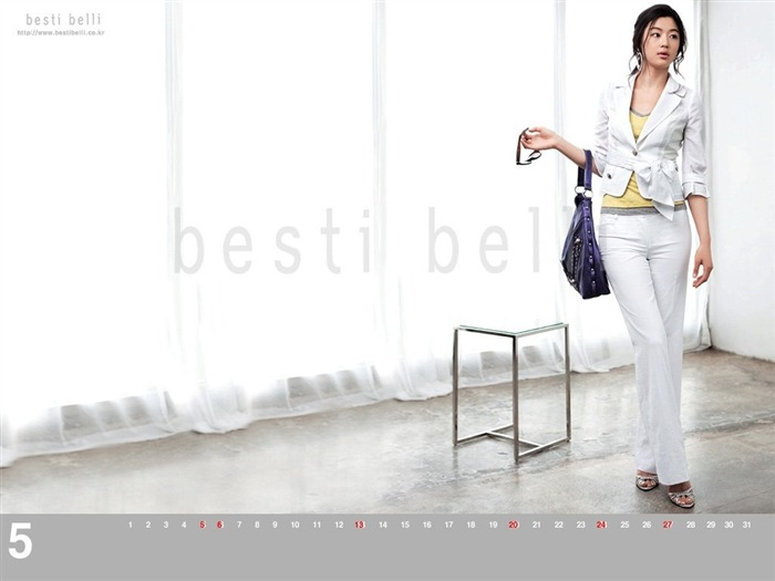 Jun Ji-hyun endorsement Korean clothing brand besti belli wallpaper 38 Views:1344