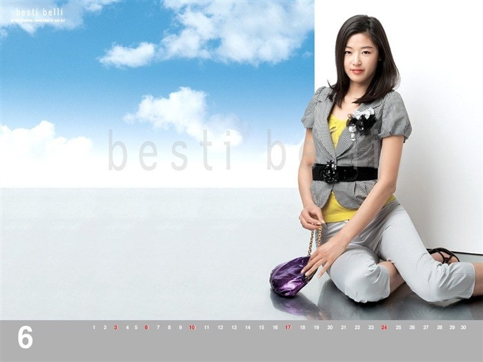 Jun Ji-hyun endorsement Korean clothing brand besti belli wallpaper 39 Views:1321