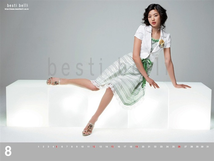 Jun Ji-hyun endorsement Korean clothing brand besti belli wallpaper 41 Views:5913