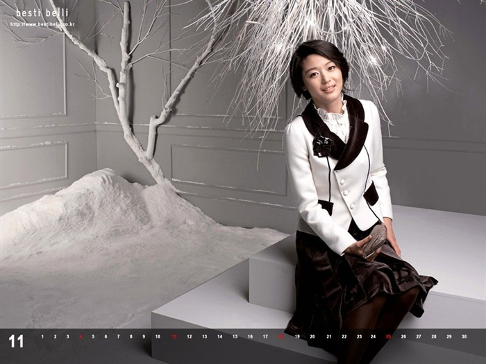 Jun Ji-hyun endorsement Korean clothing brand besti belli wallpaper 44 Views:1056