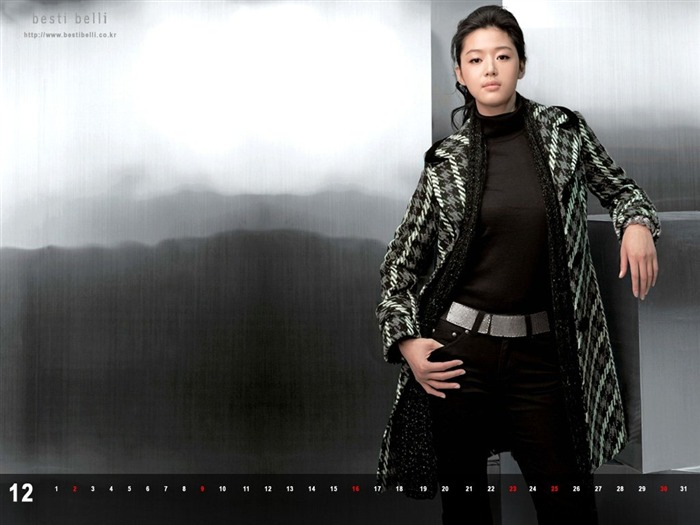 Jun Ji-hyun endorsement Korean clothing brand besti belli wallpaper 45 Views:1365