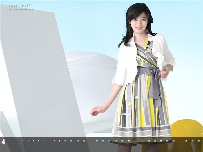 Jun Ji-hyun endorsement Korean clothing brand besti belli wallpaper 48 Views:1360