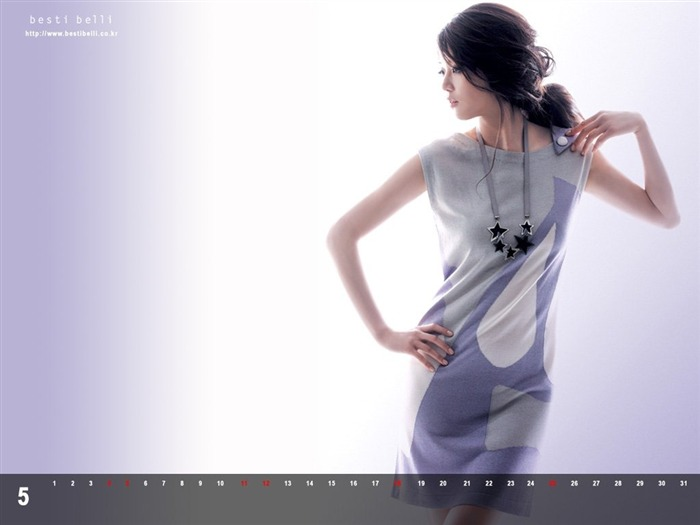 Jun Ji-hyun endorsement Korean clothing brand besti belli wallpaper 49 Views:1548