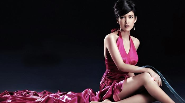 Lady head of the Hong Kong star Vivian Chow wallpaper Views:17600