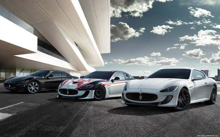 Maserati GranTurismo MC Stradale - 2010 HD wallpaper 09 Views:18656