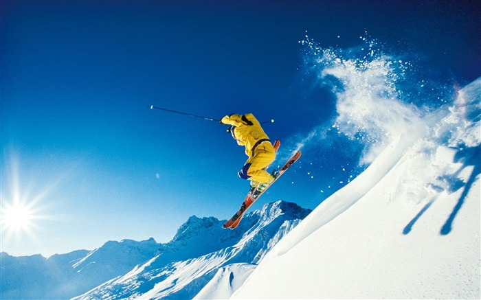 Winter Fun and in the Alps - Alps Ski Vacation Wallpapers Views:18189
