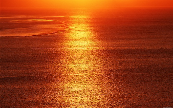is the sunset red sea and sky wallpaper Views:22157