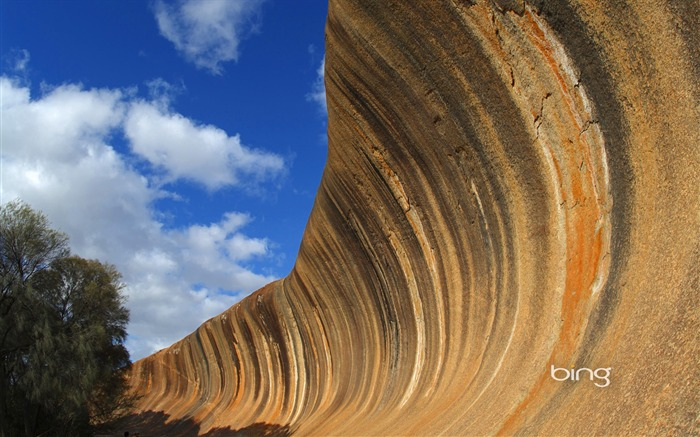 wonders of the worlds eighth largest wave of Australian rock wallpaper Hayden Views:7356 Date:6/20/2011 11:31:56 PM