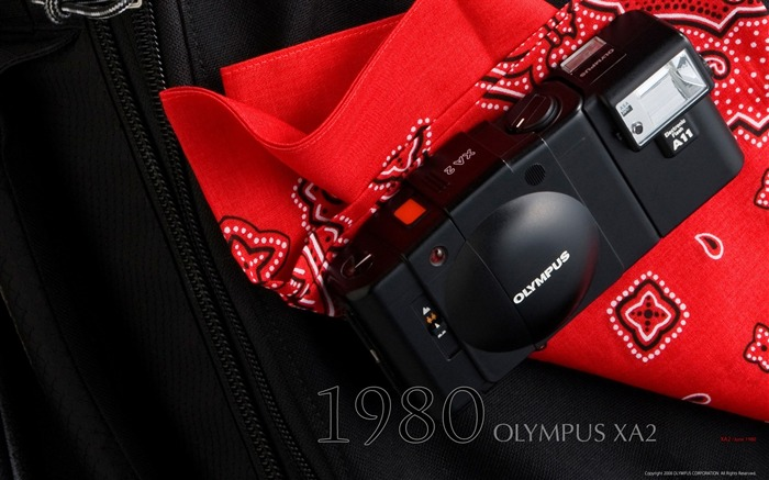 1980 Oplympus XA2 Camera Views:6629