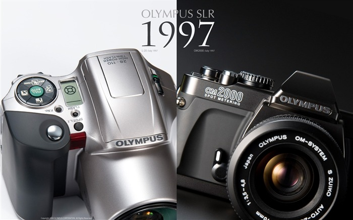 1997 Oplympus SLR Cameras 01 Views:6095