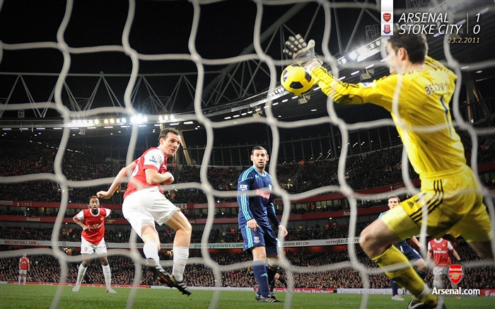 Arsenal 1-0 Stoke City Wallpaper Views:9290 Date:7/11/2011 7:09:28 AM