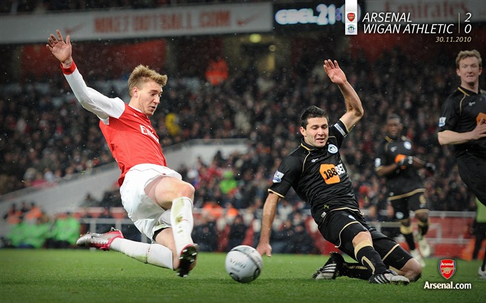 Arsenal 2-0 Wigan Athletic Wallpapers Views:6086