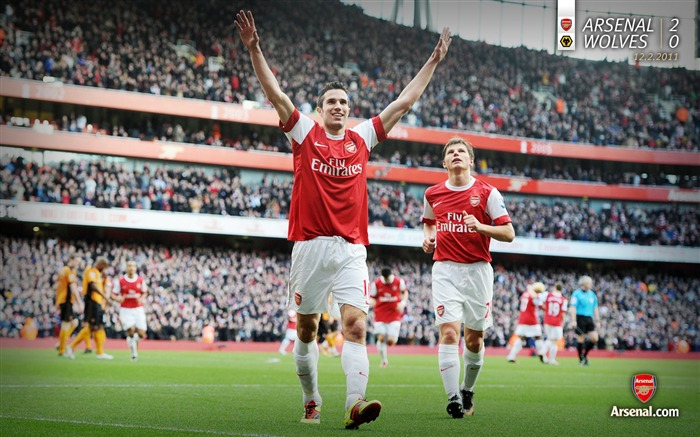 Arsenal 2-0 Wolverhampton Wanderers wallpaper Views:7272 Date:7/11/2011 7:10:39 AM