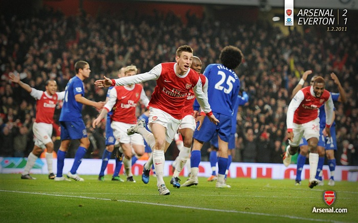 Arsenal 2-1 Everton Wallpaper Views:9375 Date:7/11/2011 7:11:28 AM