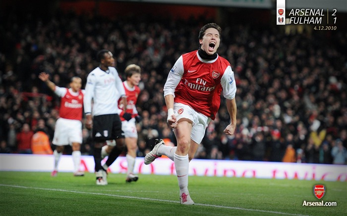 Arsenal 2-1 Fulham Wallpaper Views:8259 Date:7/11/2011 7:12:22 AM