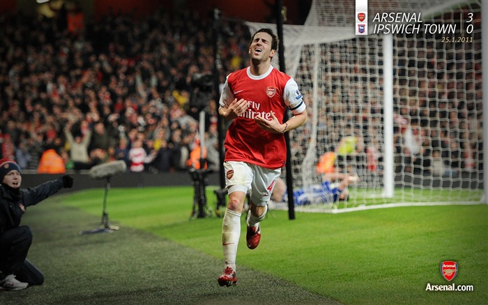 Arsenal 3-0 Ipswich Town wallpaper Views:7765 Date:7/11/2011 7:13:15 AM