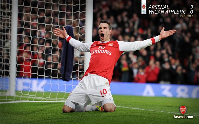 Arsenal 3-0 Wigan Athletic Wallpapers Views:6836