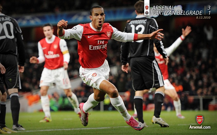 Arsenal 3-1 Partizan Belgrade wallpaper Views:8135 Date:7/11/2011 7:14:23 AM