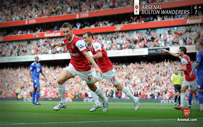 Arsenal 4-1 Bolton Wanderers Wallpapers Views:7125 Date:7/11/2011 7:14:43 AM