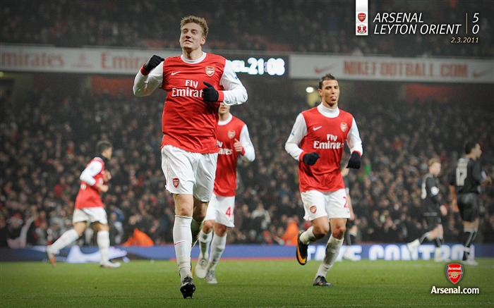 Arsenal 5-0 Leyton Orient Wallpaper Views:6717 Date:7/11/2011 7:15:10 AM