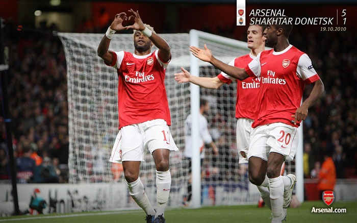 Arsenal 5-1 Shakhtar Donetsk Wallpapers Views:6249 Date:7/11/2011 7:15:32 AM