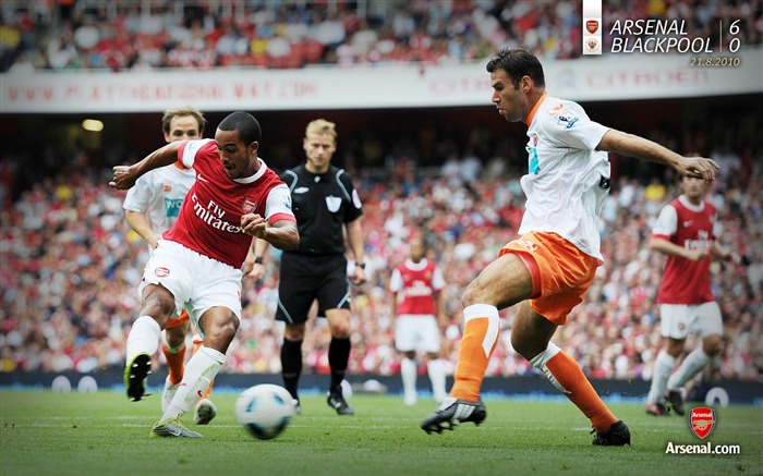 Arsenal 6-0 Blackpool wallpaper Views:6147 Date:7/11/2011 7:15:59 AM