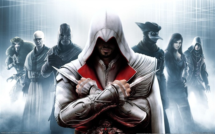 Assassin Creed Brotherhood Wallpaper 06 Views:16311