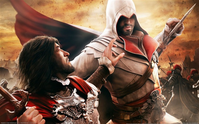 Assassin Creed Brotherhood Wallpaper 08 Views:13979