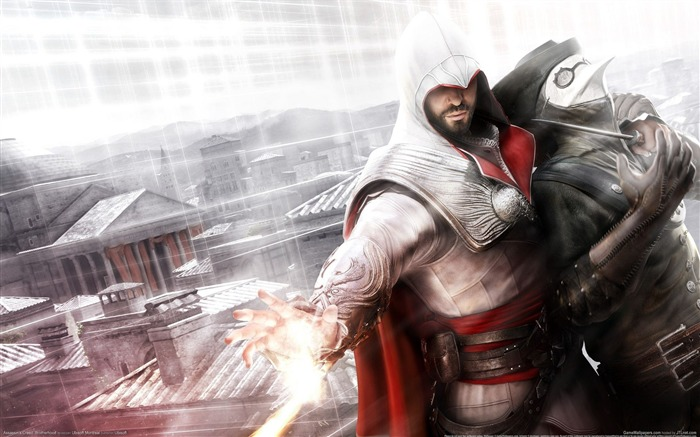 Assassin Creed Brotherhood Wallpaper 09 Views:11396