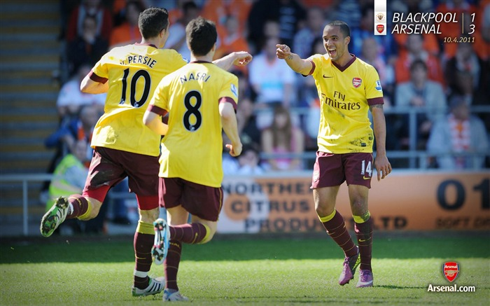 Blackpool 1-3 Arsenal Wallpaper Views:6133 Date:7/11/2011 7:19:28 AM